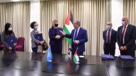 Palestinian Prime Minister, UNICEF, UNFPA, and UNDP sign a memorandum of understanding to strengthen volunteering opportunities for young people in the State of Palestine.