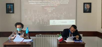 The Italian Ministry of Foreign Affairs and International Cooperation, the Italian Agency for Development Cooperation, and UNICEF sign a new partnership agreement